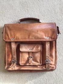 Scaramanga leather bag
