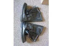 Sidi Black Size 9 Motorcycle Boots For Sale