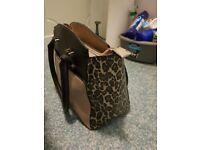 New look leopard handbag