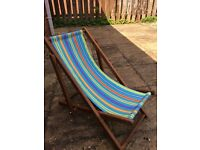 Deck chair for child from Early Learning Centre