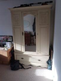 French style antique wardrobe