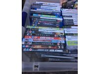 Ps 2 games wi large collection
