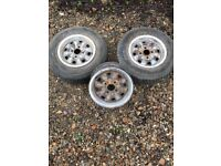 Ford Mk3 cortina rims GXL standard metal with trims