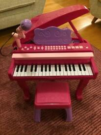 Chad Valley Grand Piano (Pink)