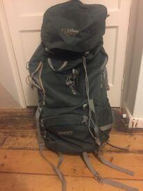 Lowe alpine atlas 65 litre rucksack