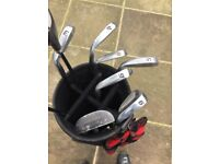 Full set of holf clubs