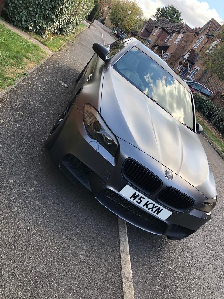 BMW M5 - F10 - Satin Grey Wrap 2012 | in Milton Keynes, Buckinghamshire |  Gumtree