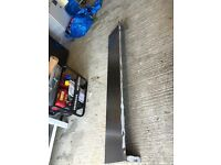 Stainless steel catering / garage shelf and brackets