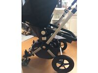 Bugaboo Cameleon buggy and bassinet pram with car seat adaptors