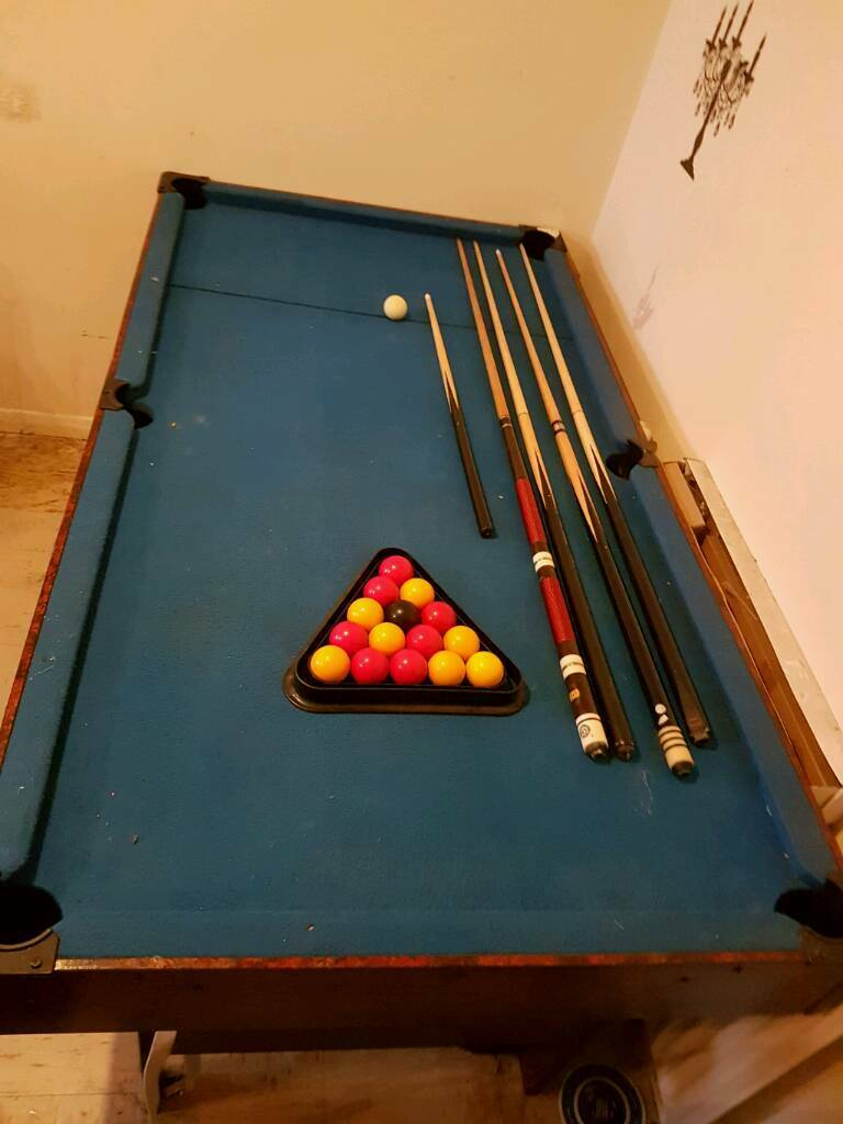 Setting Up A Pool Table 6ft Pool Table Wit Retracting Balls Full Set Up In Rochester