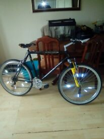 Claud butler 21speed ,crossover, frame 27 inch