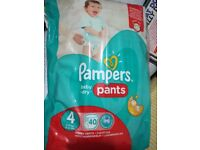 Pampers pants size 4 & size 5