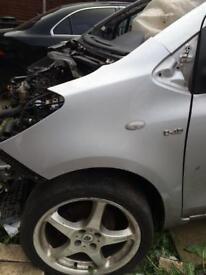 Toyota Yaris Wing Panel 2006-2011