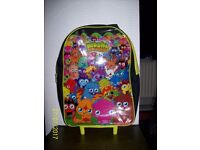 Childs Moshi Monster Suitcase on wheels