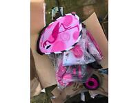 Free smart trike pink broken wheel