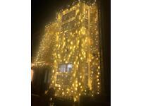 Wedding house lights . Led lights . House lights . Bright lights . Party lights .