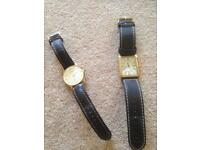 Pair of men's watches