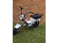 50cc monkey bikes (mint)