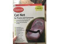 Cat net for crib/pram