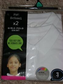 2 Pack Polo Shirts age 14-15 yrs new