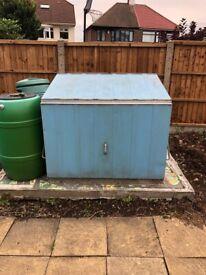 Metal Garden Storage unit