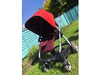 Mamas and Papas - Sola2 pushchair with assorted footmuff