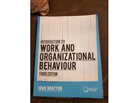 Work and Organizational Behaviour Third Edition