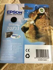 Epson black ink X 2