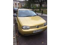 Golf GTI ( 1 owner from new) Rare spex