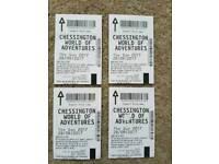 Chessington world of adventure tickets