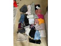 Massive bundle of clothes between size 8-10