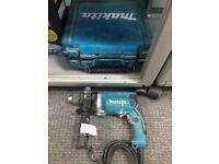 Makita HP1631 240v percussion drill & case