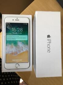 iPhone 6 EE - Virgin 16GB silver very good condition