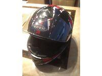 Motor bike helmet and outfit