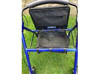 EDEN disability walking frame With seat and storage compartment very good condition nearly new