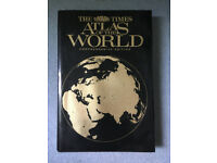 The Times Atlas of the World, large hard back