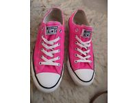 Womens Pink Converse Size 7