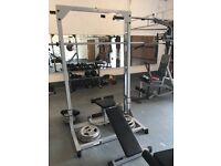 Gym equipment lot