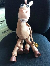 USED TOY STORY - BULLSEYE - GALLOPING,NEIGHING VIBRATING HORSE