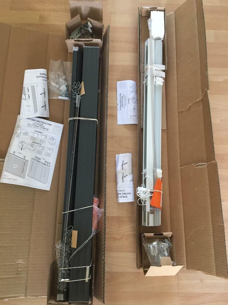 BRAND NEW VENETIAN BLINDS AND FITTINGS
