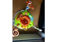 FISHER PRICE JUMPEROO RAIN FOREST LIKE NEW