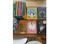 selection if enid blyton, disney, Ronald dahl books