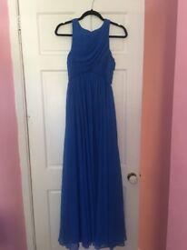 Armani exchange long dress blue size 8