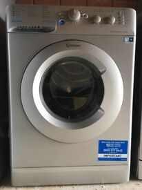 NEW INDESIT SILVER WASHING MACHINE BWC 61452 S, in fantastic condition