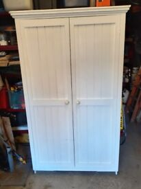 Joiner built wardrobe ready for upcycling