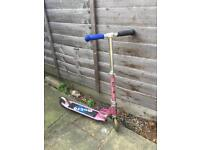 Micro sprite folding scooter pink