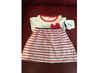 Brand new baby dress 3-6 month