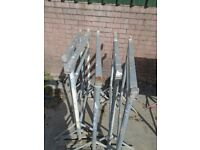 galvanised steel builders trestles