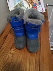 Campri boy's /toddler warm boots size 7