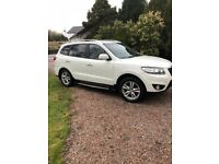 2011 REDUCED Hyundai Santa Fe white,full mot,7 seater